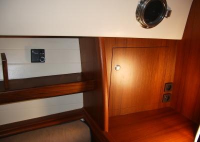 Interieur aanpassing nieuwe 'Interboat'
